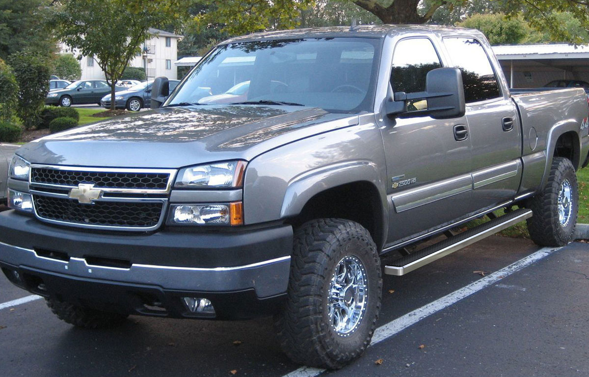 Silverado 2007 chevrolet silverado 2500 : iBoard Running Board Side Steps – iBoard Running Boards Chevy ...